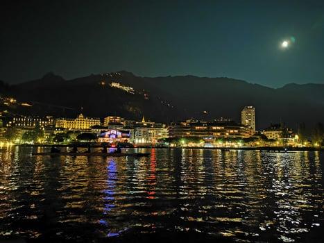 Montreux la nuit