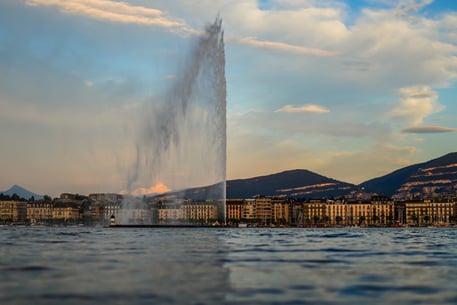 Jet d'eau de Genève