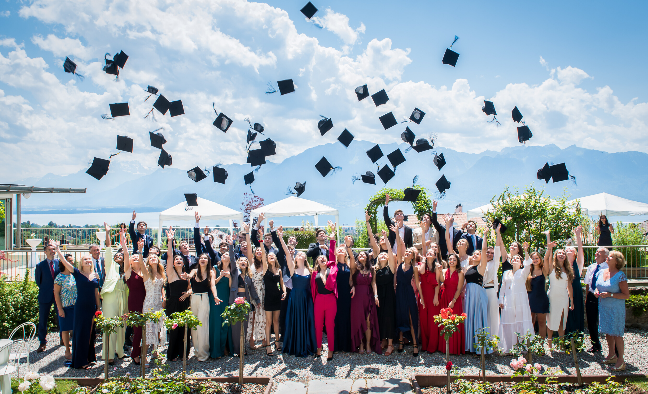 MEMORIES OF HAUT-LAC GRADUATIONS OVER THE YEARS